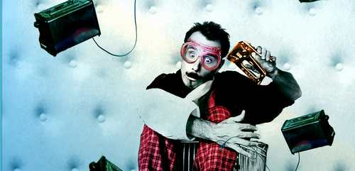El Jim Rose, mestre de ceremonies del circ freak