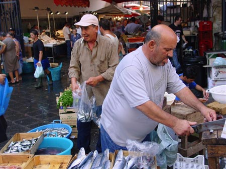 Mercat del peix de Catania