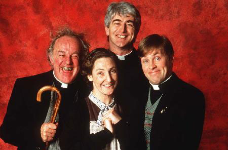 Els protagonistes de Father Ted