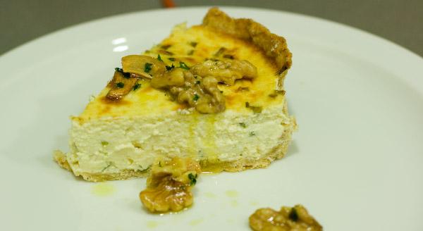 Pastís de formatge blau