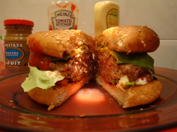 Hamburguesa -home made-