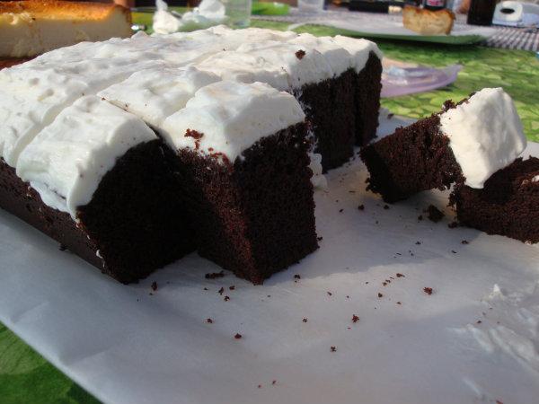 Pastís de xocolata i cervesa negra