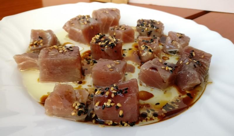 Daus de tonyina confitada
