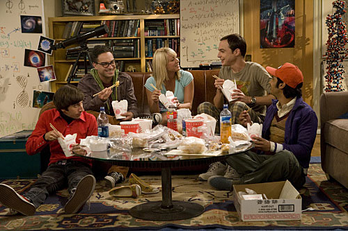 Els actors de Big bang theory