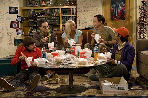 Els actors de Big bang theory