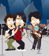 Jonas Brothers a South Park