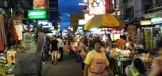 Khaosan_Road_at_night_in_2012