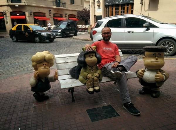 Mafalda, amics i guapo