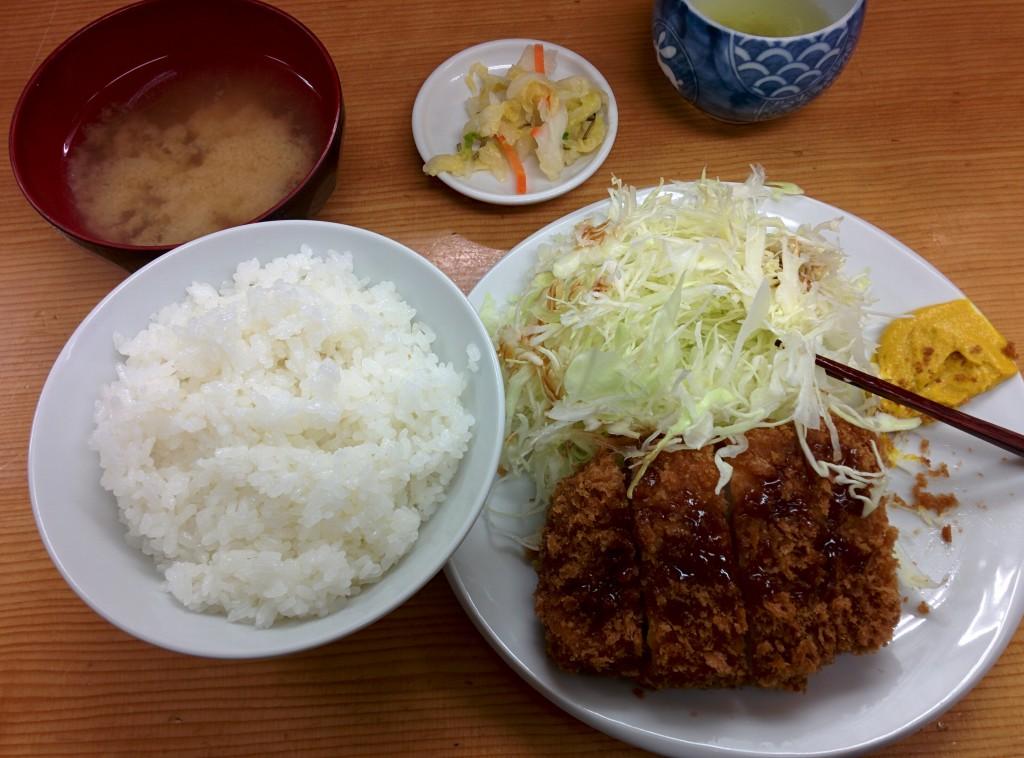 Tonkatsu a Ueno